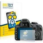 Ochranná fólie BROTECT na Nikon D3100, Matná, 2ks