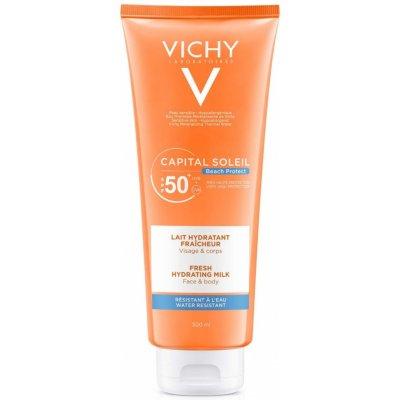 Vichy Idéal Soleil Capital ochranné mléko na tělo a obličej Water Resistant Fragrance Free Paraben Free Hypoallergenic SPF50 300 ml
