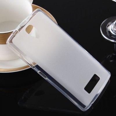 Pouzdro SES Silikonové mléčné ochranné Lenovo A2010 Dual SIM - bílé