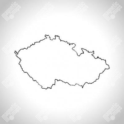 Magneticka Mapa Ceske Republiky Obrysova Slepa Heureka Cz