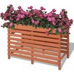 zahradaXL Truhlík 100x50x71 cm dřevěný