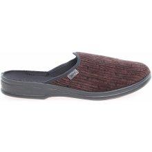 Befado pánské domácí pantofle 089M390 hnědé