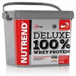 Výsledek obrázku pro NUTREND DELUXE 100 Whey Protein 4000 g