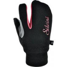 0e2828c7632 Silvini dětské rukavice Texel CA743 black -punch