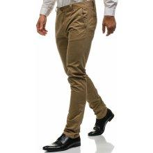 Bolf Béžové pánské chino kalhoty 6807