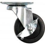 Otočné kolečko, polypropylenové s brzdou 30kg 65/23/84mm