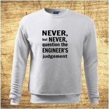 Never but never... Bílá