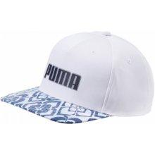 bb390ad9dae Puma čepka Go Time Snapback bílo modrá