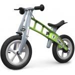 First Bike odrážedlo Street s brzdou zelené