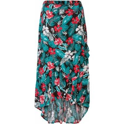 Esmara dámská maxi sukně vzor/černá/zelená