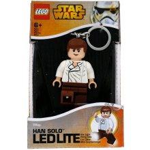 Přívěsek na klíče Lego Star Wars Han Solo svítící figurka