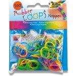 Loops Gumičky Rubber 100 ks mix tvarované