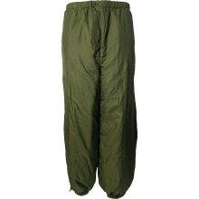 Kalhoty zateplené oboustranné, Britské olivová písková