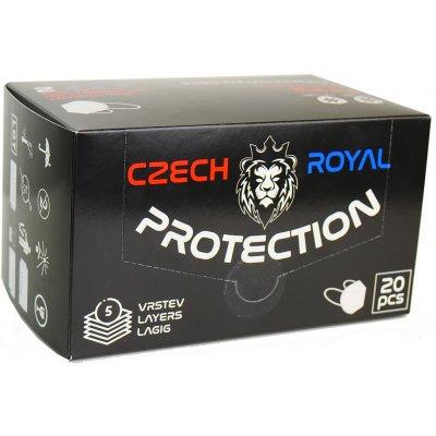 Czech Royal Protection respirátor FFP2 1 ks