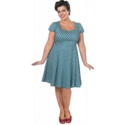 7ad734a826f7 Dolly and Dotty šaty s puntíky Claudia tyrkysová alternativy ...