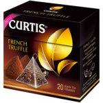 Curtis černý čaj French Truffle pyramidové sáčky 20 x 1.8 g