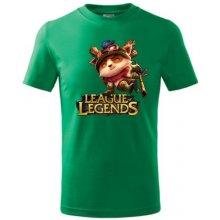 League of legends 2 středně zelená