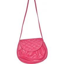 Minikabelka Mon01 Dark Pink růžová