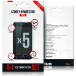 Screenprotector Ochranná fólie na displej LCD 5-PACK SONY XPERIA Z3 (D6653)