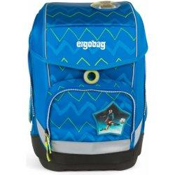 školní batoh ergobag. Školní batoh Ergobag Cubo Modrý ZigZag cb1e8d0d19