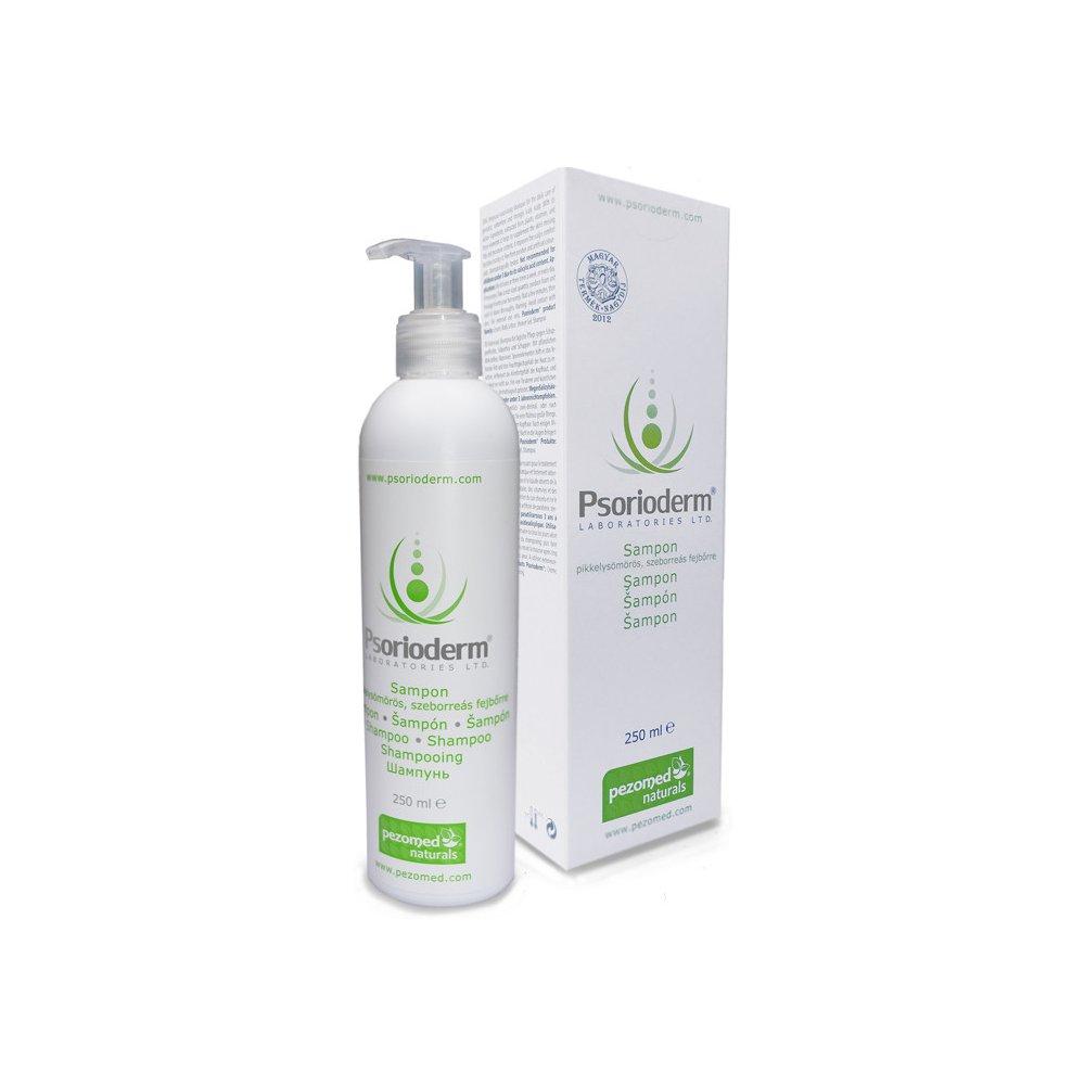 Psorioderm Sampon pikkelysömörös seborreás bőr ápolására 250ml
