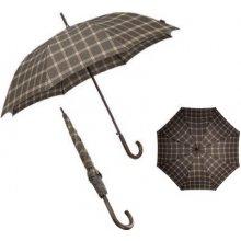 automatický deštník Samsonite Wood Classic stick man auto Black 09