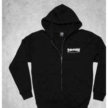Thrasher Magazine Zip Hoody černá
