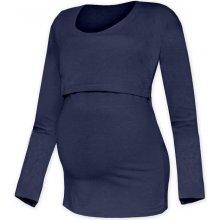 Kateřina tričko pro snadné kojení tm. modrá