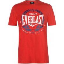 Everlast Laurel T Shirt Mens Red Laurel