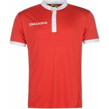 Diadora Fresno T Shirt Mens Red/White