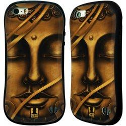 Pouzdro HEAD CASE Apple Iphone 5 5S vzor BUDDHA ZLATÝ BUDHA bae1f910f9b