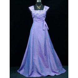 Lila svatební společenské šaty s efektem rukávku alternativy ... 506bd365f4