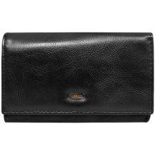 Cavaldi Peněženky Černá dámská peněženka 4U D19 Černá eed4e87e13