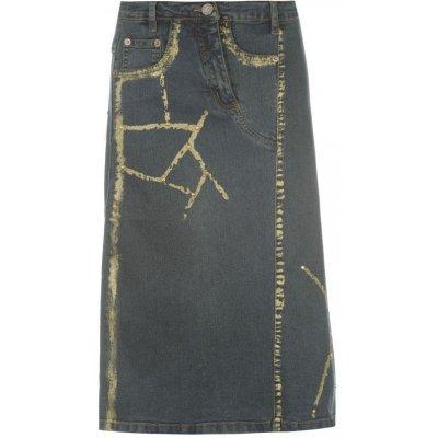 Jeansy Miss džínová sukně M WH649207-90