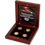 Česká mincovna Sada čtyř zlatých mincí Českoslovenští letci v RAF Významné události proof 31,1 g