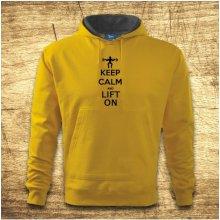 Keep calm and lift on Žlutá