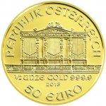 Wiener Philharmoniker Münze Österreich Zlatá mince 1 2 Oz