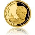 Česká mincovna Zlatá čtvrtuncová mince České tenisové legendy Jan Kodeš 7,78 g