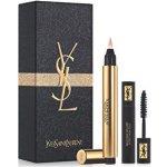 Yves Saint Laurent Touch Eclat Make-up rozjasňující korektor v peru č.02 2.5 ml   objemová řasenka 2 ml dárková sada
