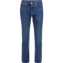 Levis Mens 501 Original Fit Warp Stretch Jeans Denim