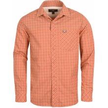 Bushman Doman pánská Košile oranžová 5123e43f23