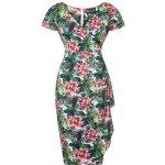 Lady V London šaty s květy Elsie tropická zahrada de17072d11
