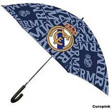 Dětský deštník FC Real Madrid: Znak (průměr 53 cm) modrý [333432] CurePink