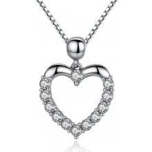 1407741de Royal Fashion náhrdelník Třpytivé srdce SCN025