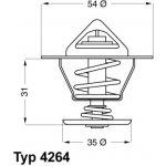 WAHLER Termostat WH 4264.87D