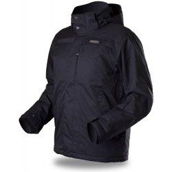 Trimm Leon black melange pánská zimní bunda