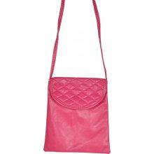 Minikabelka Gentle02 Dark Pink růžová
