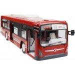 RCskladem RC autobus RTR modrá červená 1:32