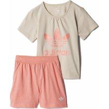 Adidas Tee Short Set šedá