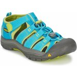 KEEN Newport H2 Jr hawaiian blue/green glow US 1 / EU 33,0 / UK 13 / 20 cm; Modrá sandály